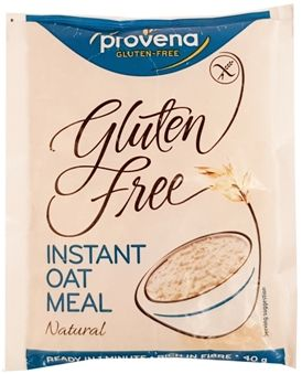 RAISIO Provena, Gluten Free Instant Oat Meal Natural, owsianka bez glutenu, copyright Olga Kublik