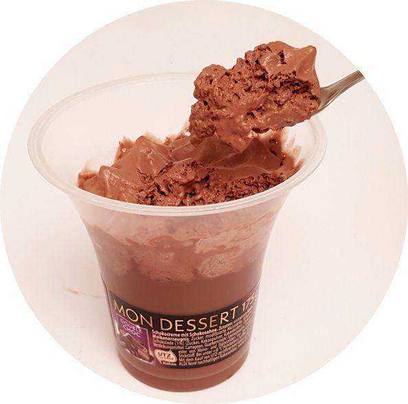 Ursi, Mon Dessert Double Choc, czekoladowy deser z bitą śmietaną, copyright Olga Kublik
