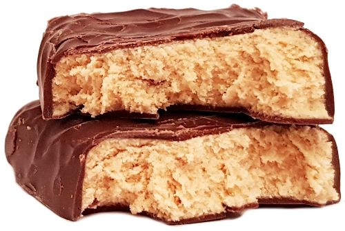 Bakalland, baton proteinowy BA! Protein 30% białka kawa, ziarna kakao, czekolada, copyright Olga Kublik