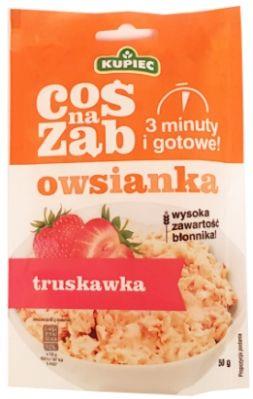 Kupiec, Coś na ząb owsianka truskawka, copyright Olga Kublik