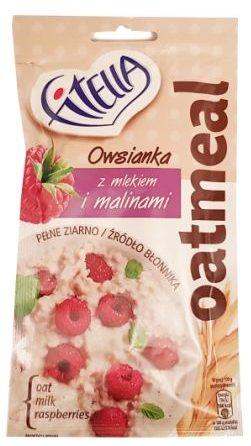 Nestle, Fitella Owsianka z mlekiem i malinami, copyright Olga Kublik