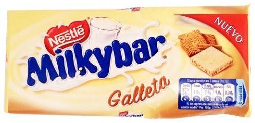 Nestle, Milkybar Galleta, biała czekolada z ciasteczkami korzennymi, copyright Olga Kublik