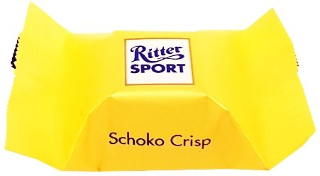 Ritter Sport, Schokowurfel vielfalt, kolekcja czekoladek, bombonierka, pralinki czekoladowe, czekoladki niemieckie, Schoko Crisp, copyright Olga Kublik
