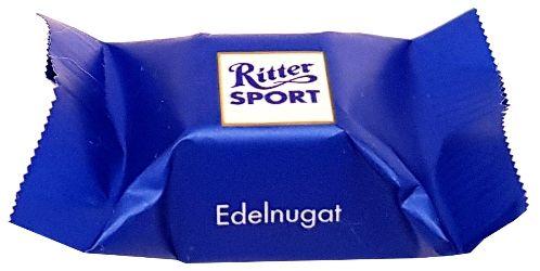 Ritter Sport, Schokowurfel vielfalt, kolekcja czekoladek, bombonierka, pralinki czekoladowe, czekoladki niemieckie, Edelnugat, copyright Olga Kublik