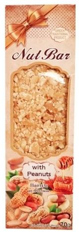 Smell Greece, Nut Bar with Peanuts, baton orzechowy z sezamem i miodem, copyright Olga Kublik