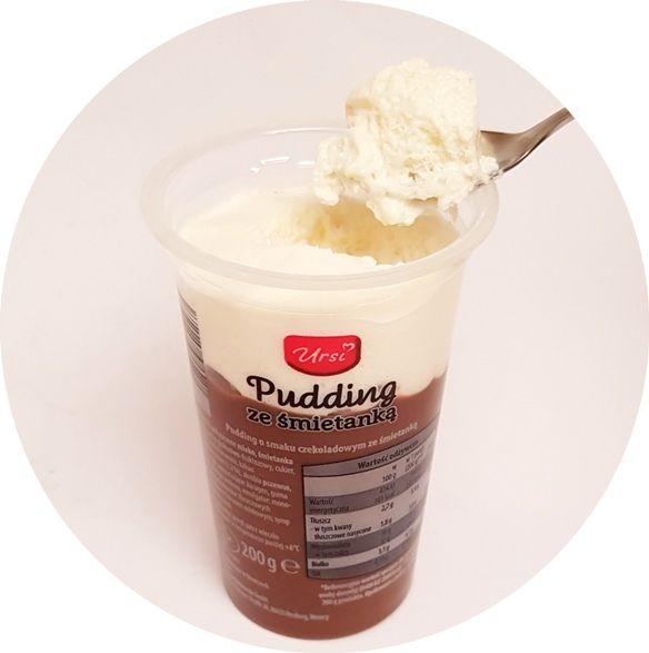 Ursi, Pudding ze śmietanką o smaku czekoladowym, deser z Aldiego, copyright Olga Kublik