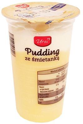 Ursi, Pudding ze śmietanką o smaku waniliowym, deser z Aldiego, copyright Olga Kublik