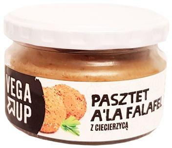 Vega Up, Pasztet a la falafel z ciecierzycą, copyright Olga Kublik
