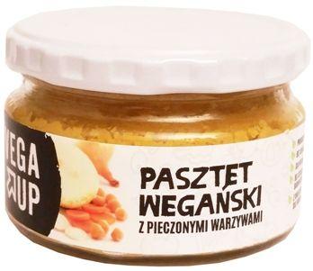 Vega Up, Pasztet wegański z pieczonymi warzywami, copyright Olga Kublik