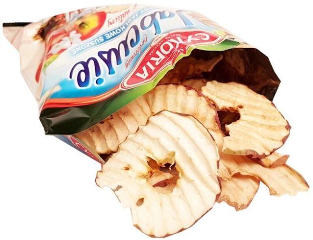 Cykoria, Jabcusie chipsy jabłkowe suszone, copyright Olga Kublik