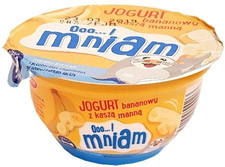 Jagr, Ooo...! mniam Jogurt z kasza manna bananowy, copyright Olga Kublik