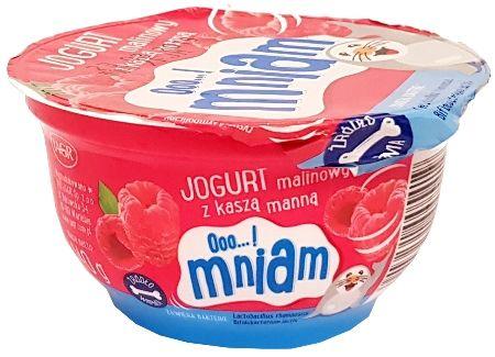 Jagr, Ooo...! mniam Jogurt z kasza manna malinowy, copyright Olga Kublik