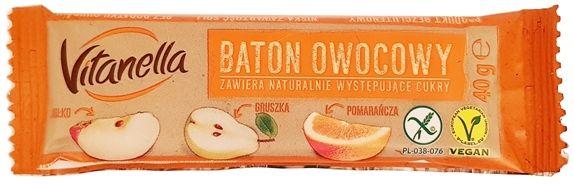 Otmuchów, Vitanella Baton owocowy pomarańczowy, copyright Olga Kublik