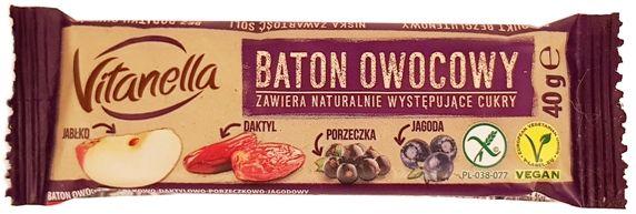 Otmuchów, Vitanella Baton owocowy porzeczkowo-jagodowy, copyright Olga Kublik