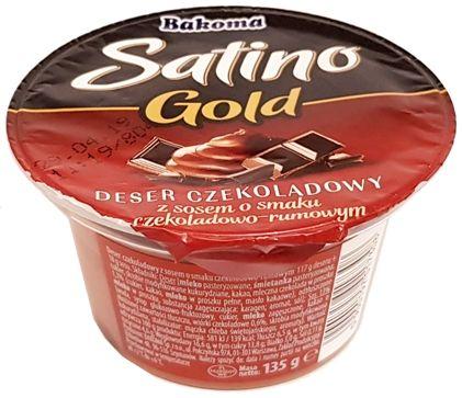 Bakoma, Satino Gold deser czekoladowy z sosem, copyright Olga Kublik