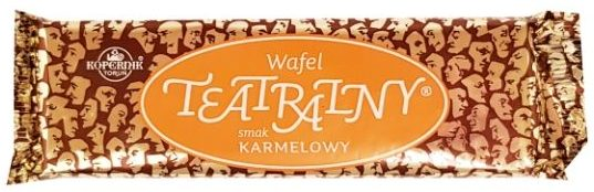 Kopernik, Wafel Teatralny smak karmelowy, copyright Olga Kublik
