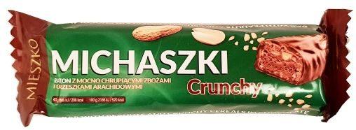 Mieszko, baton Michaszki Crunchy, copyright Olga Kublik