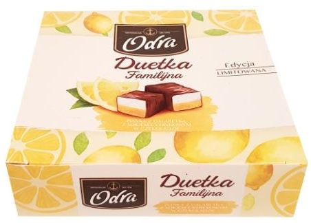 Odra, Duetka Familijna Pianka z galaretka z sokiem cytrynowym w czekoladzie, copyright Olga Kublik