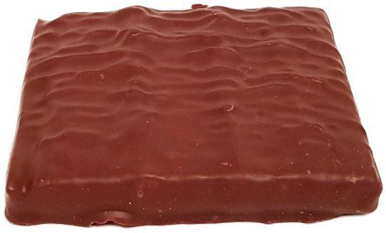 Bakalland, BArdzo bakaliowa tabliczka w czekoladzie daktyle, pomarańcze, kawa, copyright Olga Kublik
