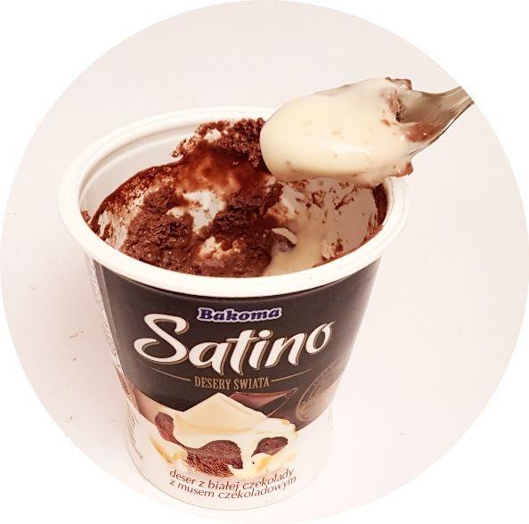 Bakoma, Satino Desery Świata biała czekolada Rzym, copyright Olga Kublik