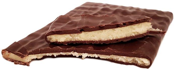 Erasmi Carstens, Magnetic Czekolada deserowa z marcepanem, ciemna czekolada z Biedronki, copyright Olga Kublik
