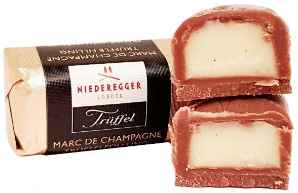 Niederegger, praliny Truffel Marc de Champagne, copyright Olga Kublik