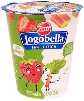 Zott, Jogobella Fan Edition truskawka rabarbar, copyright Olga Kublik