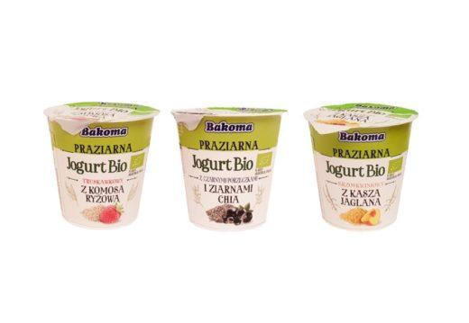 Bakoma, Praziarna Jogurt Bio, ekologiczny jogurt, copyright Olga Kublik