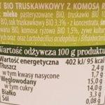 Bakoma, Praziarna Jogurt Bio, ekologiczny jogurt, skład i wartości odżywcze, copyright Olga Kublik