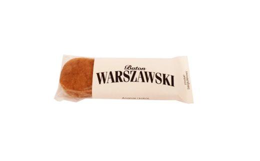 Baton Warszawski, wegański baton bezglutenowy Ananas i kokos, bez glutenu i laktozy, copyright Olga Kublik
