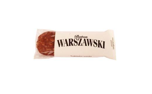 Baton Warszawski, wegański baton bezglutenowy Truskawka i wanilia, copyright Olga Kublik