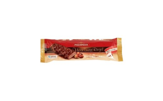 Heindl, Pischinger Haselnuss Riegel Noir, kruchy wafel z czekoladą ciemną i orzechami laskowymi, copyright Olga Kublik