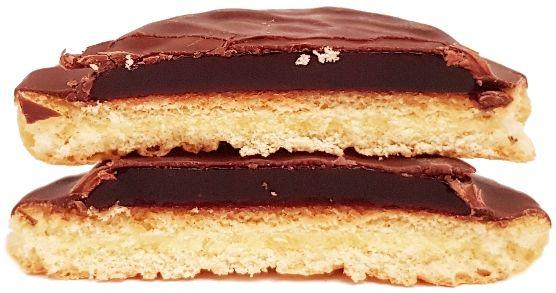 Moja Bajka, Delicje Szampańskie Malinowe, ciastka z galaretką i ciemną czekoladą jaffa cakes, copyright Olga Kublik