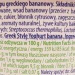 Piątnica, jogurt kremowy Piatus, skład i wartości odżywcze, copyright Olga Kublik