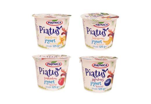 Piątnica, jogurt kremowy Piatus, copyright Olga Kublik