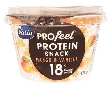 Valio, PROfeel Protein Snack Mango Vanilla, jogurt proteinowy mango wanilia, copyright Olga Kublik