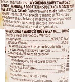 Valio, PROfeel Protein Snack Mango Vanilla, jogurt proteinowy mango wanilia, skład i wartości odżywcze, copyright Olga Kublik