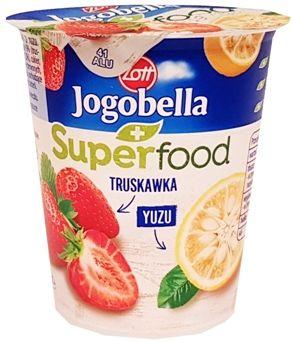 Zott, jogurt Jogobella Superfood Truskawka, Yuzu, copyright Olga Kublik