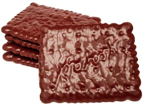 Bahlsen, Krakuski Maltanki herbatniki w masie czekoladopodobnej, kruche ciastka z polewą, copyright Olga Kublik