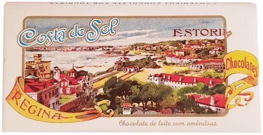 Imperial, Regina Chocolates Chocolate de leite com amendoas, portugalska mleczna czekolada z migdałami, copyright Olga Kublik