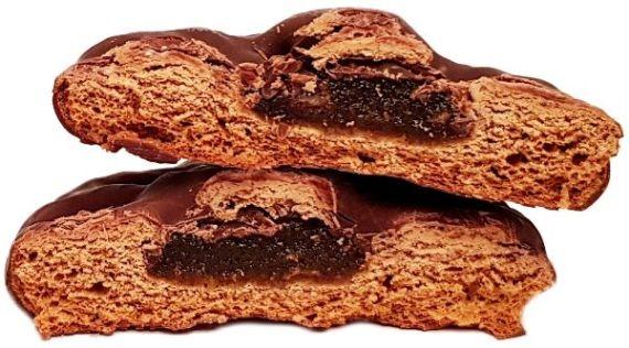 Kopernik, Pierniki nadziewane w deserowej czekoladzie Smak morelowy, ciastka korzenne z dżemem owocowym, copyright Olga Kublik