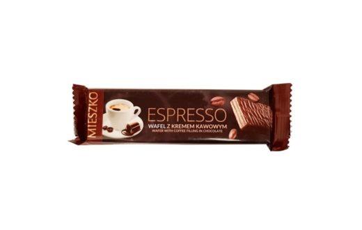 Mieszko, Espresso wafel z kremem kawowym, copyright Olga Kublik