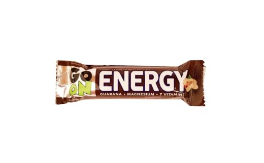 Sante, Go On Energy Peanut, Caramel, Milk Chocolate, baton czekoladowy z orzechami i karmelem, copyright Olga Kublik