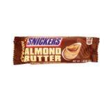 MARS, Snickers Creamy Almond Butter, amerykański baton czekoladowy, baton z masłem migdałowym, migdałami i karmelem, copyright Olga Kublik