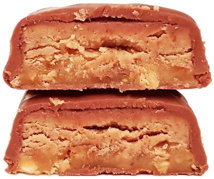 MARS, Snickers Creamy Maple Almond Butter, amerykański baton czekoladowy z masłem migdałowym i syropem klonowym, copyright Olga Kublik