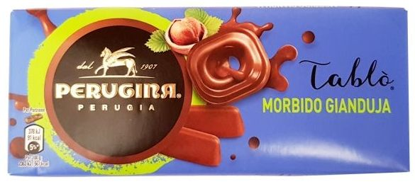 Nestle, Perugina Tablo Morbido Gianduja, mleczna czekolada orzechowa a la nugat, copyright Olga Kublik