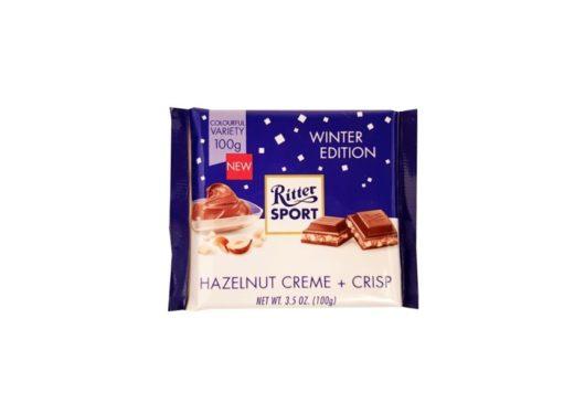 Ritter Sport, Hazelnut Creme and Crisp, mleczna czekolada nugatowa z orzechami lakowymi, copyright Olga Kublik