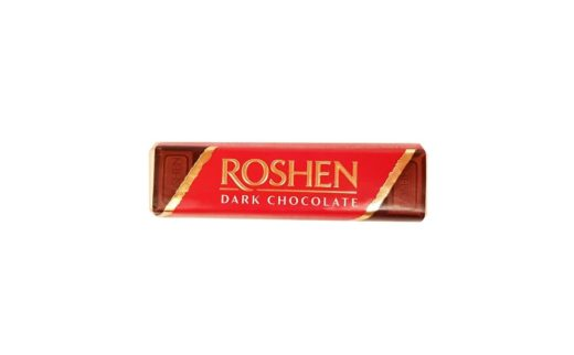 Roshen, Dark Chocolate Brandy, ukraiński baton czekoladowy, copyright Olga Kublik