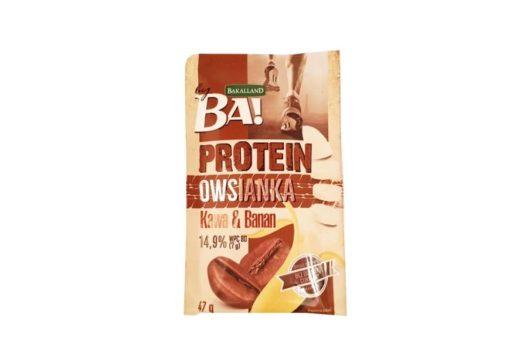 Bakalland, BA Protein Owsianka Kawa i Banan, zdrowa owsianka proteinowa, copyright Olga Kublik