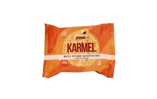 Good Food, Karmel Wafle ryżowo-kukurydziane o smaku karmelowym, copyright Olga Kublik